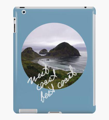 West Coast, Best Coast! iPad Case/Skin