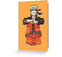/_/Uzumaki Naruto/_/ Greeting Card