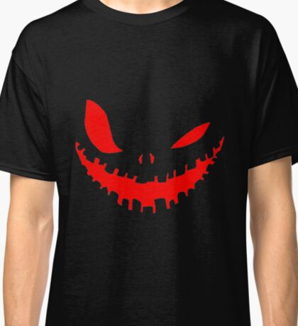 Scary Devil Face for Halloween Classic T-Shirt