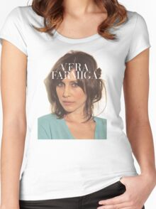 Vera Farmiga  Women's Fitted Scoop T-Shirt