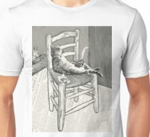 The cat's chair Unisex T-Shirt
