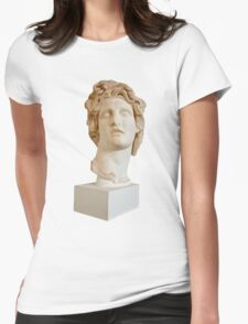 Vaporwave Head Womens Fitted T-Shirt