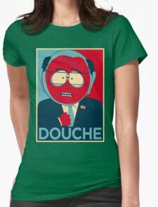 MR GARRISON DOUCHE Womens Fitted T-Shirt