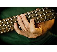 Guitar Player Photographic Print