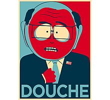 MR GARRISON DOUCHE Photographic Print