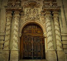 Spanish Church Door by debidabble