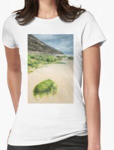 Beach of Llanes Womens Fitted T-Shirt