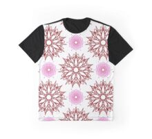 stars like flowers and weaving flowers with points Graphic T-Shirt