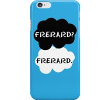 Frerard - TFIOS iPhone Case/Skin