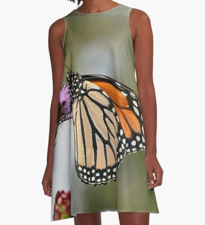 Monarch A-Line Dress