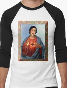 Saint Pablo Escobar Men's Baseball ¾ T-Shirt