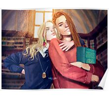 Luna and Ginny Poster