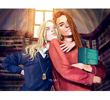 Luna and Ginny Photographic Print