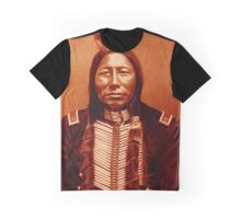 Chief Crow King-The Sioux Graphic T-Shirt