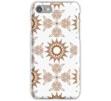 fifteen angle stars and weaving crosses iPhone Case/Skin