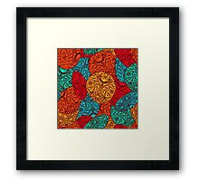 Abstract pattern design Framed Print