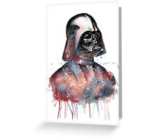 Darth Vader: A Splatter Geek Original Greeting Card