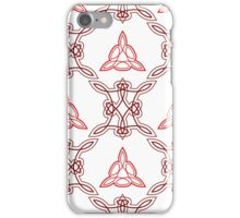 ornament like east triangles and forms like squares iPhone Case/Skin