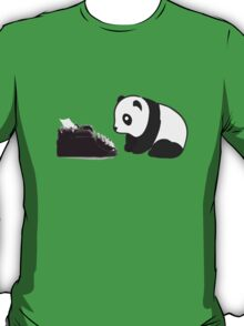Typewriter Panda T-Shirt