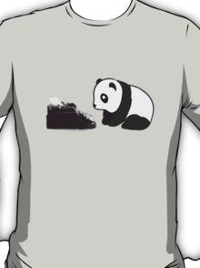 Typewriter Panda T-Shirt
