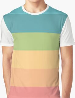 Colored Graphic T-Shirt