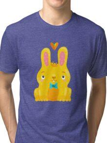 Cute Bunny Tri-blend T-Shirt