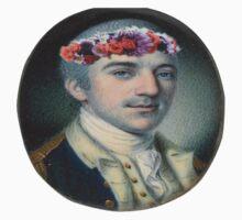 John Laurens flowercrown Kids Tee