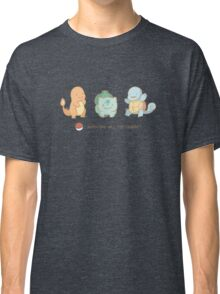 Kanto starters Classic T-Shirt