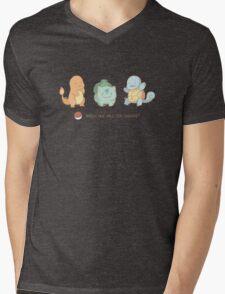 Kanto starters Mens V-Neck T-Shirt