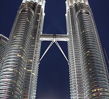 Twin Towers, KL, Malaysia by indiafrank