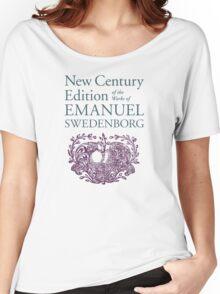 NCE emblem vertical Women's Relaxed Fit T-Shirt