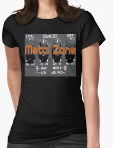 Metal Zone  Womens Fitted T-Shirt