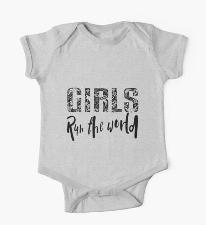 Girls Rule the World  One Piece - Short Sleeve
