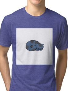 Flask the Cheshire Cat-Simple Tri-blend T-Shirt
