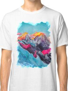 Snowy Sunrise Classic T-Shirt