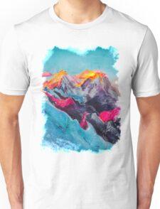 Snowy Sunrise Unisex T-Shirt