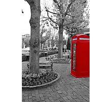 Red Telephone Box Photographic Print
