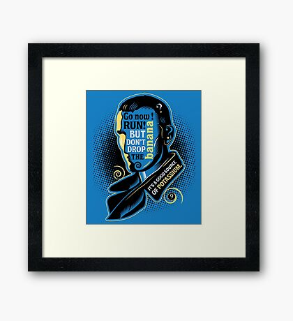 Who Says What #9 Framed Print