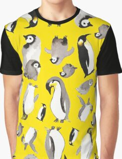 Yellow Penguin Potpourri Graphic T-Shirt