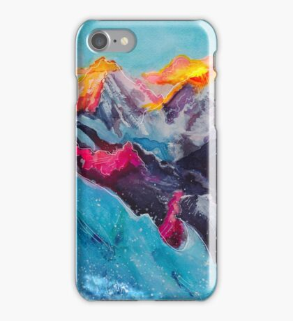 Snowy Sunrise iPhone Case/Skin