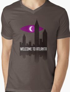Welcome To Atlanta Mens V-Neck T-Shirt