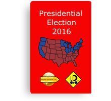 2016 Presidential Election Canvas Print