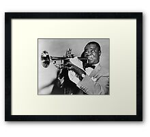 Louis (Satchmo) Armstrong Framed Print