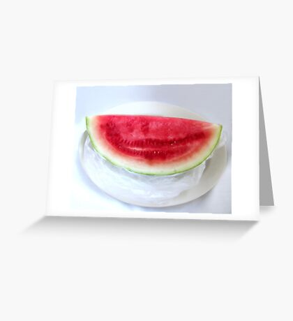 Watermelon Summer Greeting Card