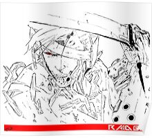 Metal Gear Solid - Raiden Poster