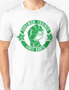 Pokemon Trainer Green Logo FanArt Unisex T-Shirt