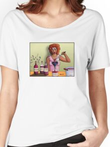 Bottling up Emotions Women's Relaxed Fit T-Shirt