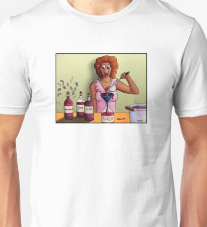 Bottling up Emotions Unisex T-Shirt