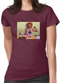 Bottling up Emotions Womens Fitted T-Shirt