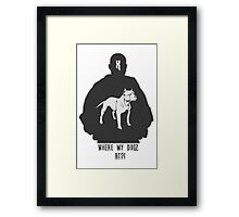 RAP / HIP-HOP: DMX Framed Print
